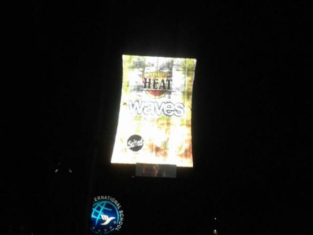 Heat Waves Lamp Post Banner